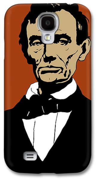 Historian Mixed Media Galaxy S4 Cases - President Lincoln Galaxy S4 Case by War Is Hell Store