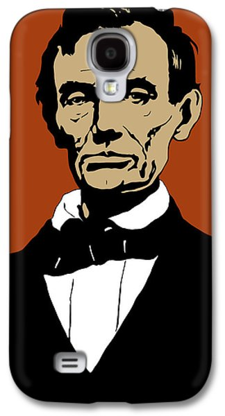 President Lincoln Galaxy S4 Case by War Is Hell Store