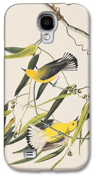 Warbler Galaxy S4 Case - Prothonotary Warbler by John James Audubon