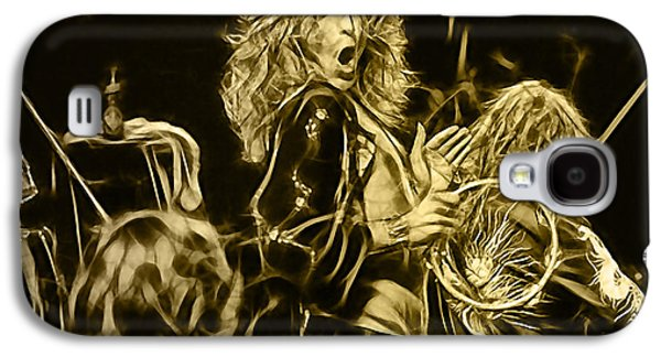 Robert Plant Led Zeppelin Galaxy S4 Case by Marvin Blaine