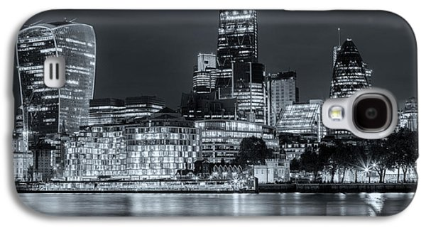Skyline Of London Galaxy S4 Case by Joana Kruse