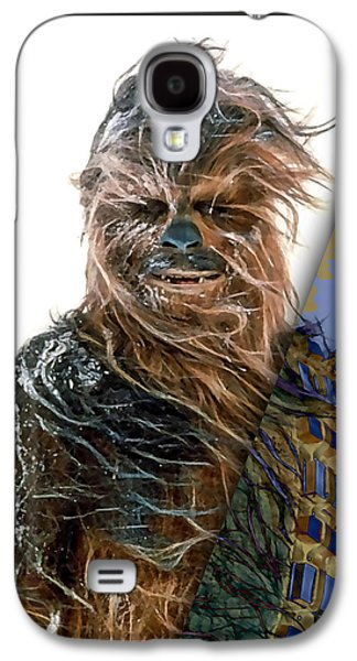 Star Wars Chewbacca Collection Galaxy S4 Case