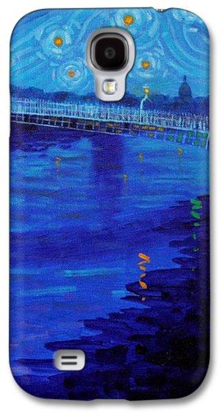 Starry Night In Dublin Galaxy S4 Case by John  Nolan