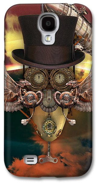 Steampunk Art Galaxy S4 Case by Marvin Blaine