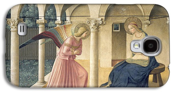 The Annunciation Galaxy S4 Case by Fra Angelico