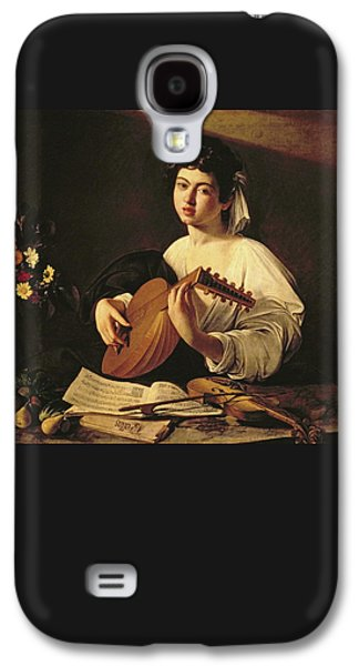 The Lute Player Galaxy S4 Case by Caravaggio
