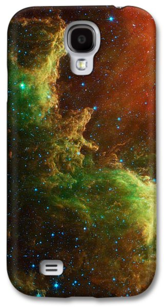 The North America Nebula Galaxy S4 Case by American School