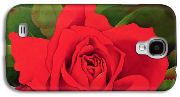Rose Galaxy S4 Case - The Rose by Myung-Bo Sim