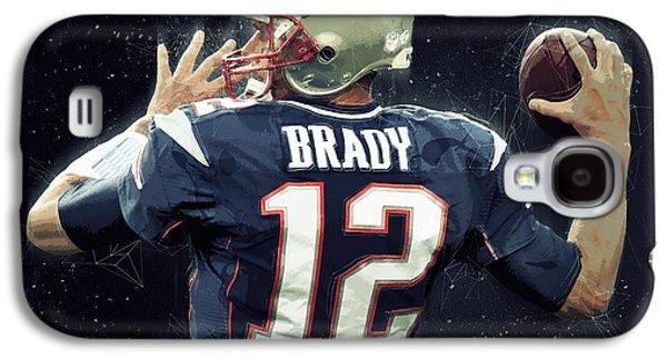 Tom Brady Galaxy S4 Case by Semih Yurdabak