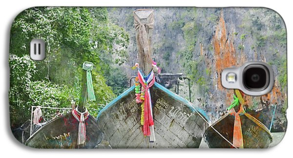 Traditional Long Boat In Thailand Galaxy S4 Case