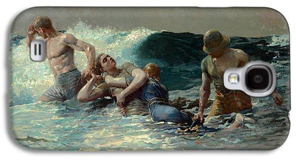 Undertow Galaxy S4 Case by Winslow Homer