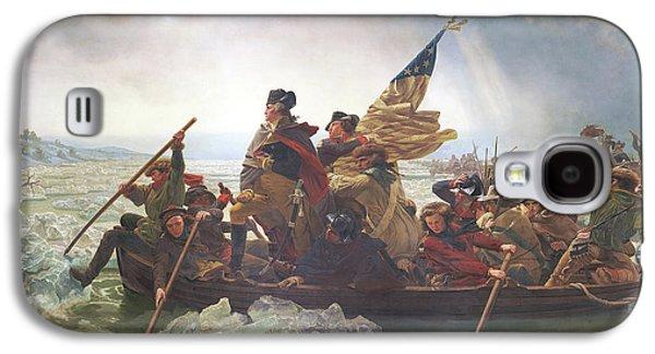 Washington Crossing The Delaware Galaxy S4 Case by Emanuel Gottlieb Leutze