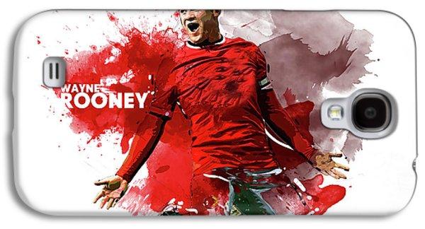 Wayne Rooney Galaxy S4 Case by Semih Yurdabak
