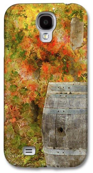 Wine Barrel In Autumn Galaxy S4 Case