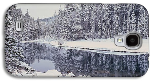 Winter Snowstorm In The Lake Tahoe Galaxy S4 Case