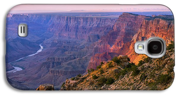 Light Galaxy S4 Case - Canyon Glow by Mikes Nature