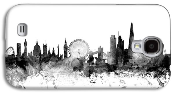 London England Skyline Galaxy S4 Case by Michael Tompsett