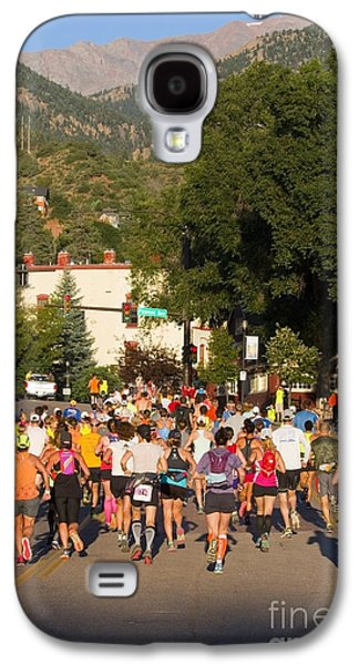 Pikes Peak Marathon And Ascent Galaxy S4 Case by Steve Krull