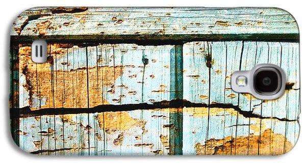 Wooden Background Galaxy S4 Case