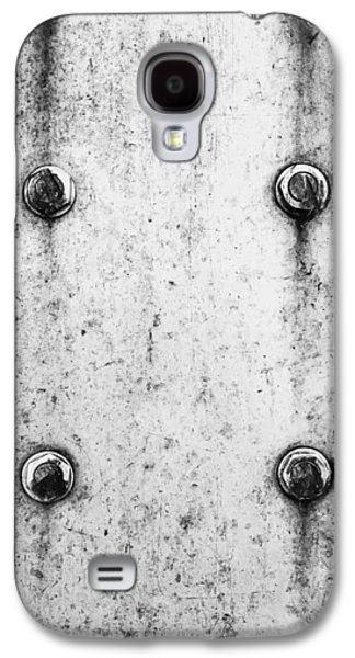 Metal Background Galaxy S4 Case by Tom Gowanlock