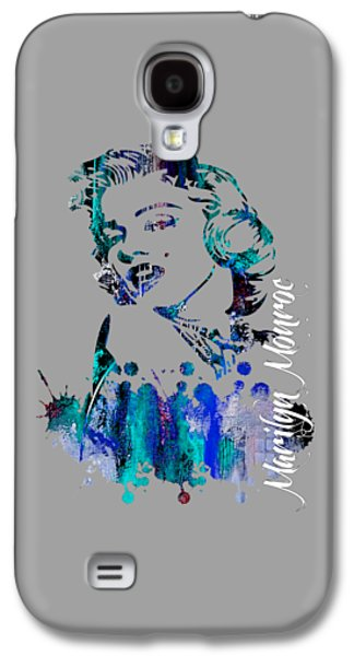 Marilyn Monroe Collection Galaxy S4 Case by Marvin Blaine