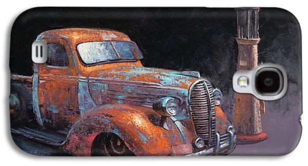 Truck Galaxy S4 Case - 38 Fat Fender Ford by Cody DeLong