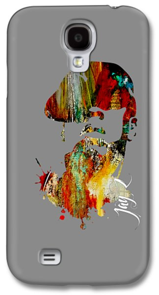 Jay Z Collection Galaxy S4 Case by Marvin Blaine