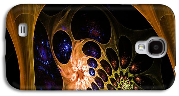 3d Chaotica Galaxy S4 Case