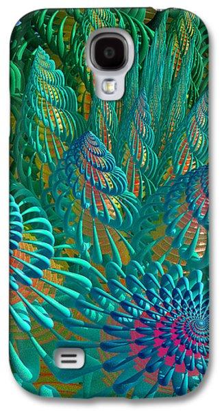 3d Seashells Artwork Galaxy S4 Case by Gaspar Avila