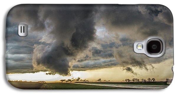 Nebraskasc Galaxy S4 Case - 3rd Storm Chase Of 2018 051 by NebraskaSC