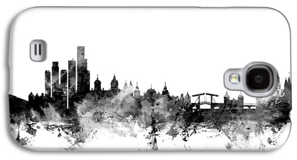Amsterdam The Netherlands Skyline Galaxy S4 Case by Michael Tompsett