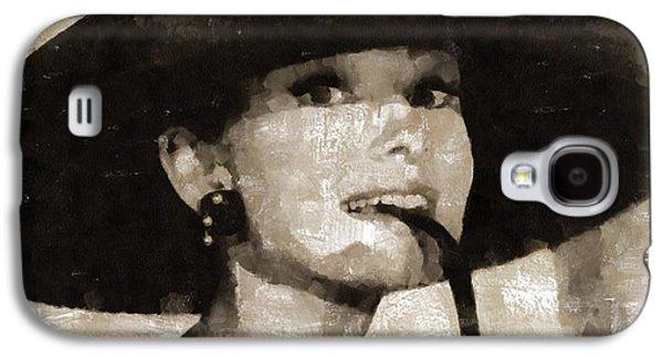 Audrey Hepburn Hollywood Actress Galaxy S4 Case