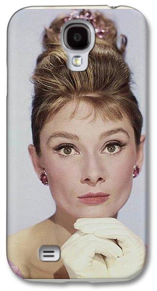 Audrey Hepburn Galaxy S4 Case by John Springfield