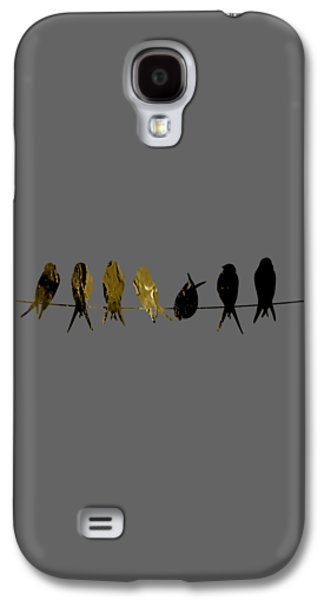 Birds On A Wire Collection Galaxy S4 Case by Marvin Blaine