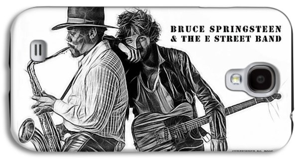 Bruce Springsteen Clarence Clemons Collection Galaxy S4 Case by Marvin Blaine