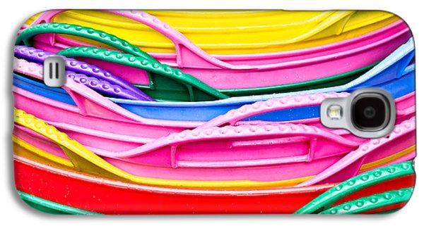 Colorful Plastic Galaxy S4 Case