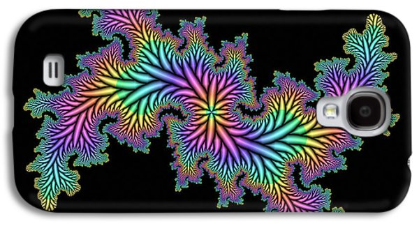 Fractal Image Galaxy S4 Cases - Computer-generated Julia Fractal Galaxy S4 Case by Mehau Kulyk