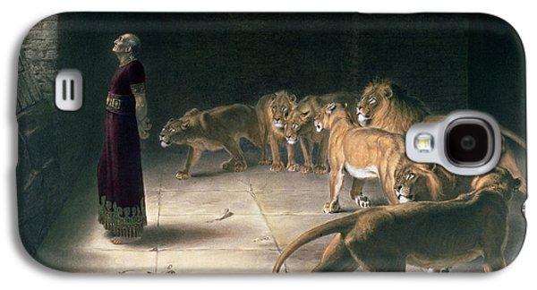 Daniel In The Lions Den Galaxy S4 Case by Briton Riviere
