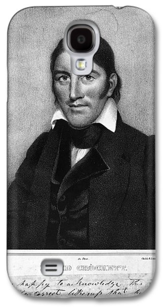 Autographed Art Galaxy S4 Cases - Davy Crockett (1786-1836) Galaxy S4 Case by Granger