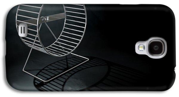 Hamster Wheel Empty Galaxy S4 Case by Allan Swart