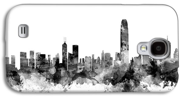 Hong Kong Skyline Galaxy S4 Case by Michael Tompsett
