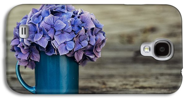 Hortensia Flowers Galaxy S4 Case by Nailia Schwarz