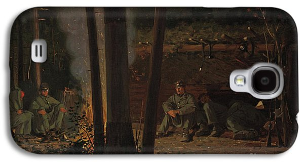 In Front Of Yorktown Galaxy S4 Case by Winslow Homer