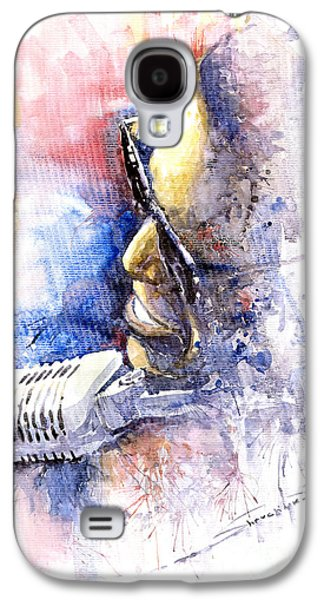Jazz Ray Charles Galaxy S4 Case by Yuriy  Shevchuk