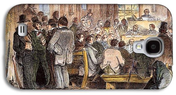 Kansas-nebraska Act, 1855 Galaxy S4 Case