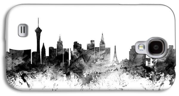 Las Vegas Nevada Skyline Galaxy S4 Case by Michael Tompsett