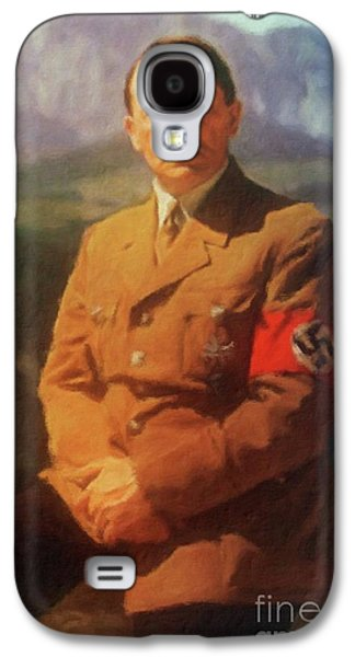 Leaders Of Wwii - Adolf Hitler Galaxy S4 Case