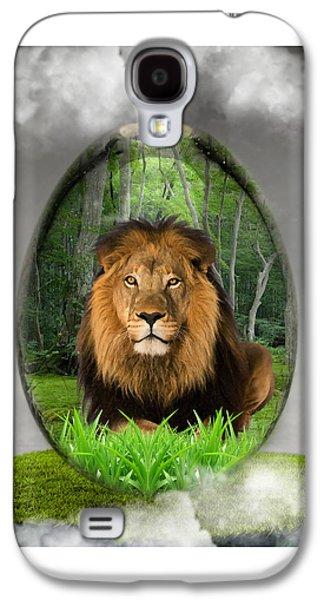 Lion Art Galaxy S4 Case by Marvin Blaine