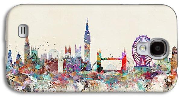London City Skyline Galaxy S4 Case