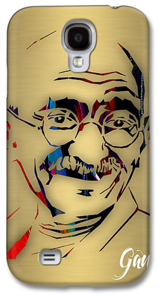 Mahatma Gandhi Collection Galaxy S4 Case by Marvin Blaine